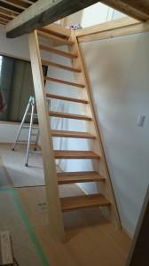 「明かりが取れるようにしてほしい」の希望通りの階段
